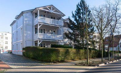 Ostseebad Binz: 3-Zimmer-Eigentumswohnung mit Blick auf den Kurpark